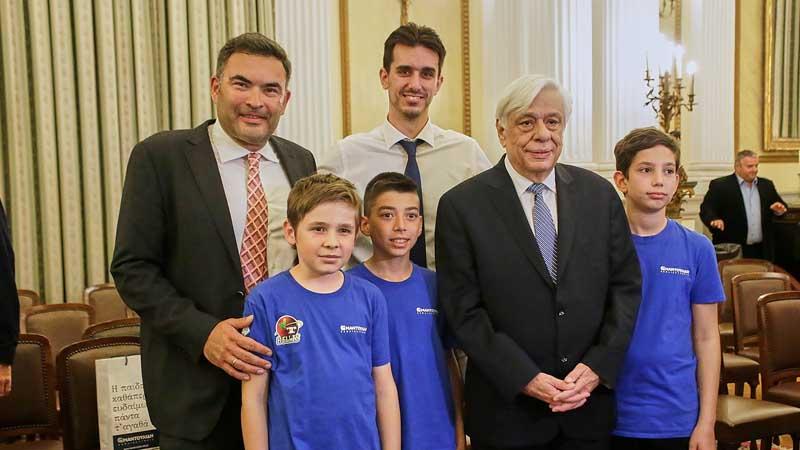 Μάθημα Ο Πρόεδρος της Δημοκρατίας τίμησε τις ομάδες που θα εκπροσωπήσουν την Ελλάδα στο εξωτερικό