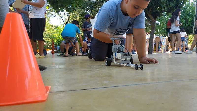 Μάθημα Καλοκαιρινό πρωτάθλημα ρομποτικής στην Χαλκιδική